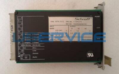SCHROFF POWER SUPPLY SPM 2512