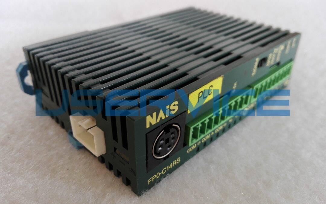 PLC E-CUBE NAIS CONTROL UNIT FP0-C14RS